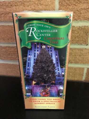 Rockefeller Center Christmas Tree Kit NIP Alexandra Lewis Norway Spruce