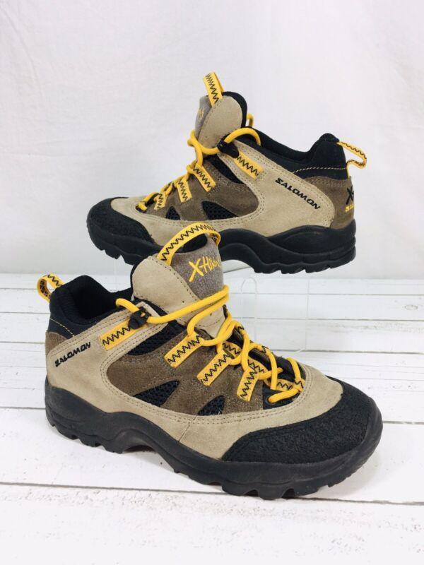 Salomon Contragrip X Hiking Outdoors Boots Youth Men's Sz 3.5 Women's 4.5