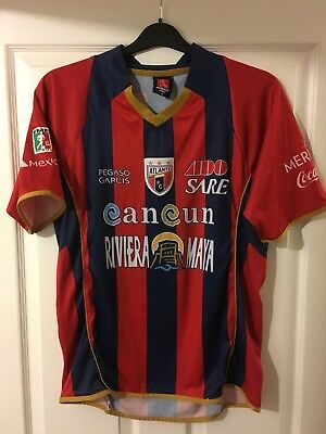 2009/2010 Atlante FC home football shirt Mexico rare vintage shirt small men's image