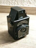 Altissa Modell D 6x6 alte Box Kamera Fotoapparat DDR Ledertasche Rostock - Toitenwinkel Vorschau
