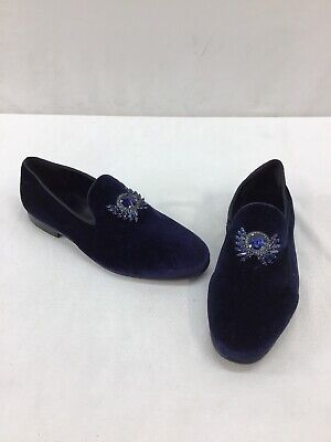 Aldo Men's Hearst Dark Indigo Slip On Loafers Size 9.5M  M188 -