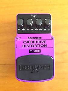 Behringer Guitar Effect FX Overdrive Distortion Pedal Hamilton North Newcastle Area Preview