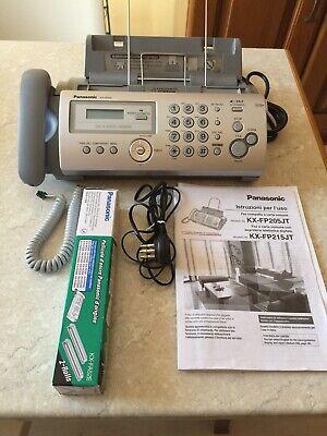 Telefono/fax Panasonic Mod. KX-FP205JT