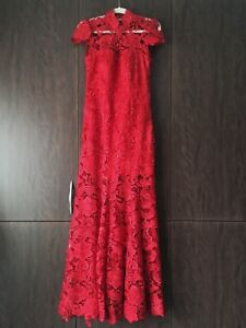 Chinese Red Wedding Gown