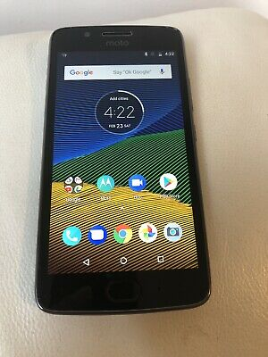 Motorola MOTO Moto G5- 16GB (Unlocked)  Very Good condition