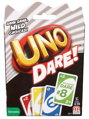 Mattel Card Games UNO Dare Card Games