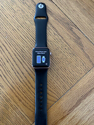 Apple watch series 3. 38mm Rose Gold Aluminium