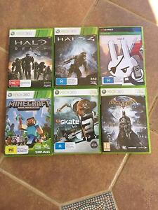 6 xbox 360 games Collingwood Park Ipswich City Preview