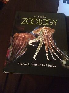 Zoology 8th edition miller and Harley