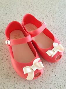 Jelly sandals, size 11