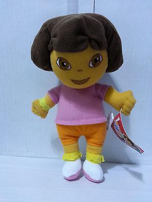 8 Inches Dora The Explorer Plush Doll 100% Original License