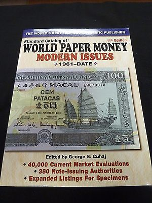 Standard Catalog of World Paper Money Modern Issues 11th Edition