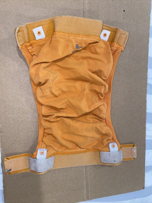 gDiapers - Group 7 - Large Orange Gpant, 2 Liners, and 2 Gcloth Inserts