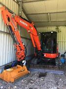 Kubota 5.5T Excavator Lismore Area Preview
