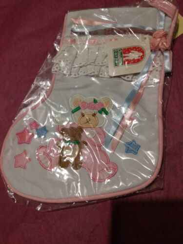 New Babys 1st Christmas Stocking 11 inches