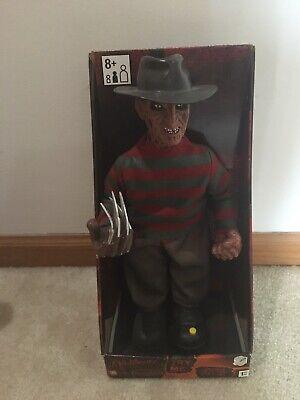 Animated Halloween Freddy Krueger Nightmare on Elm Street Gemmy Prop NEW