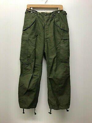 Vintage M51 Trousers Field OD Pants, Size Small / Regular M-1951 F-97