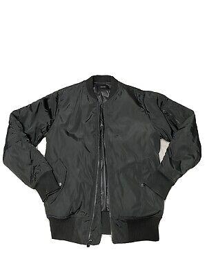 STAMPD Military Bomber Jacket Black