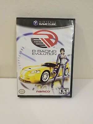 R: Racing Evolution & Pac-Man Vs (Nintendo GameCube) 2 Disc COMBO COMPLETE