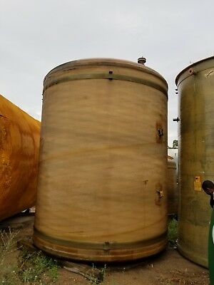 6700 Gallon Vertical Fiberglass Storage Tank