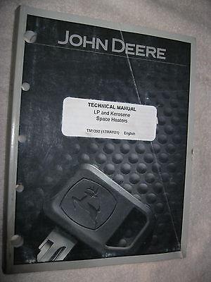 2001 John Deere Lp Kerosene Space Heater Technical Shop Repair Service Manual