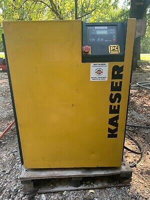 20 Hp Kaeser Rotary Screw Air Compressor