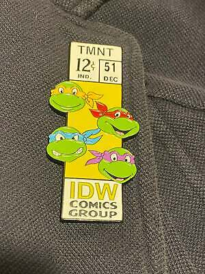 """Marvel Corner Box TMNT Teenage Mutant Ninja Turtles 3"""" Enamel Pin! Series 3!"""