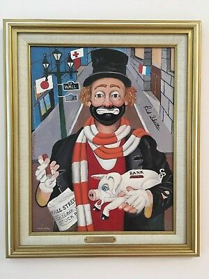 RED SKELTON LITHOGRAPH PAINTINGS, Set of 4 #397/5000, Priced each