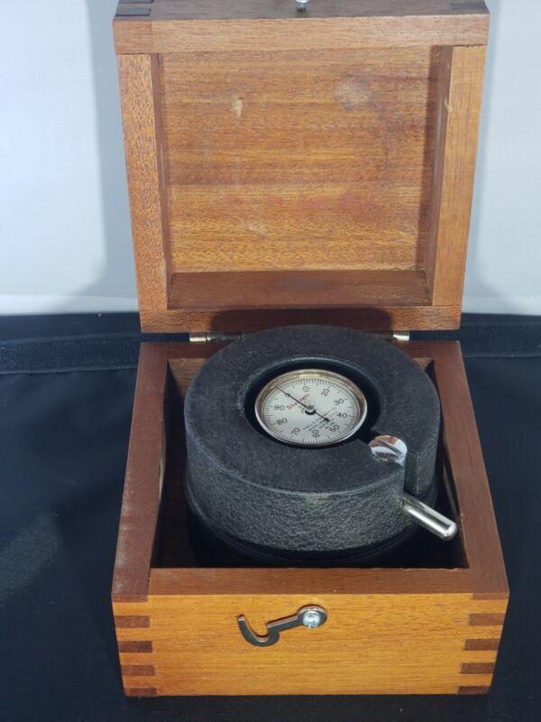 Starrett Vibrometer No.192 Vibration tester 0.001