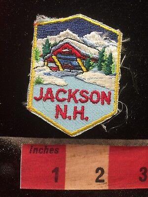 Jackson New Hampshire Patch - Snow Ski Resort Town 78Z7