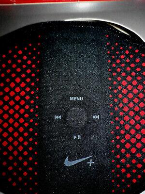 Nike Sport Armband for Ipod Nano Black & Red-Jogging Hiking Running Walking $29 -