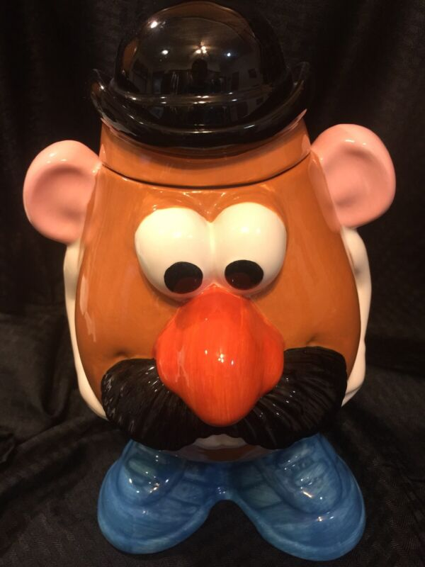 Toy Story Mr Potato Head 1998 Ceramic Cookie Jar by Clay Art Excellent Condition