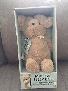Musical sleep doll