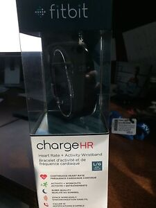 New in box Fitbit charge HR
