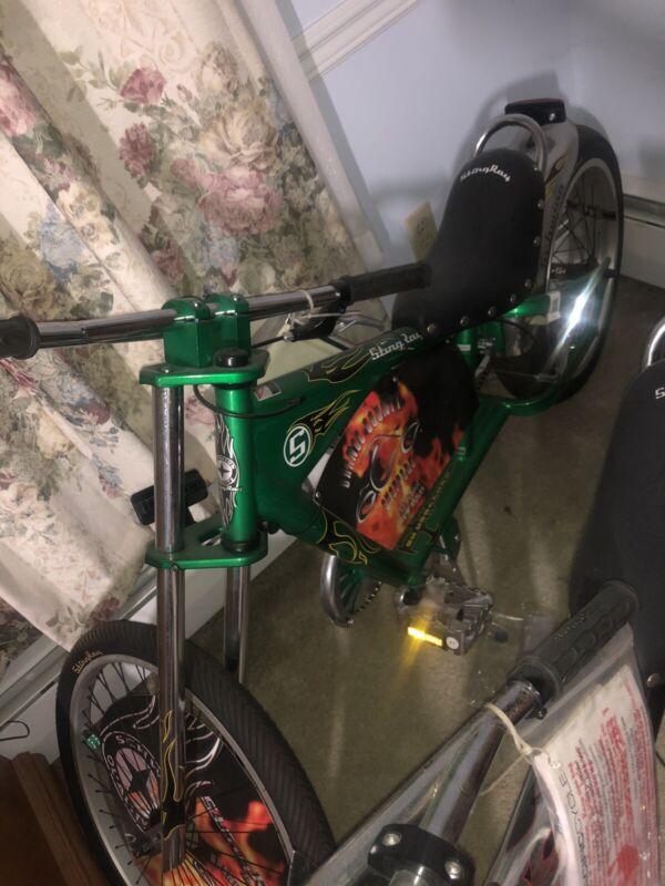 NOS New OCC Green Schwinn Stingray Chopper Bicycle