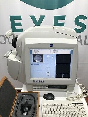 Carl Zeiss Cirrus 4000 Spectral Domain Oct Hd Windows 7 Os W Quad Core Processor