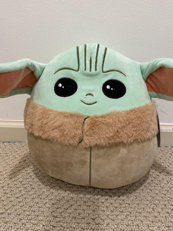 Star Wars Baby Yoda 10 Inches Mandalorian The Child Squishmallow Soft Grogu
