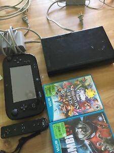 Used WiiU with Games