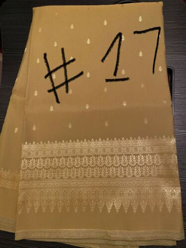 Khmer Thai traditional skirt fabric (Soeng Thai)