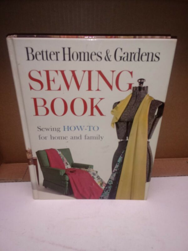 Better Homes & Gardens Sewing Book 1961 Hardcover