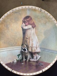 """""""In Disgrace"""" Royal Doulton Collector Plate-reduced"""