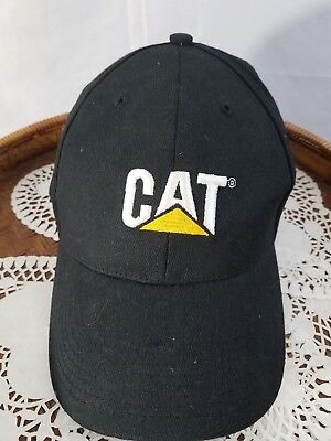 "Catapiller men""s cap adjustable black nwot"