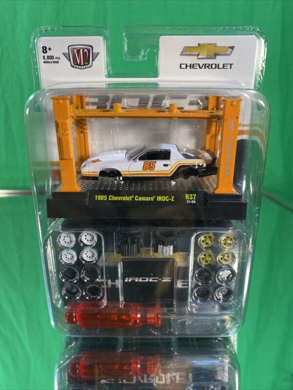2021M2 machines 1985 Chevrolet Camaro iRock Z bag model kit