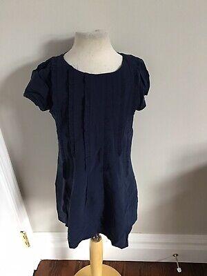 Nice Things Mini Blue Dress 4 Nwt