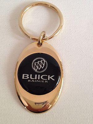 Buick Rainier Keychain Solid Brass key chain Personalized Free Buick Rainier Keychain