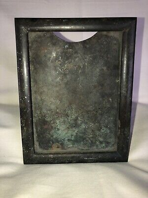 Rustic Shinny Metallic Silver Distressed Frame One Silver 8x10 Random Picture Frame Shabby Chic Vintage Chrome Color Photo Frame