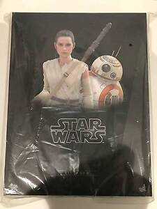 STAR WARS THE FORCE AWAKENS REY AND BB-8 MMS337  HOTTOYS FIGURE Meadowbank Ryde Area Preview