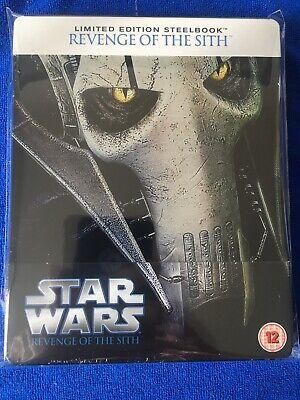 Star Wars Revenge Of The Sith Blu Ray Steelbook