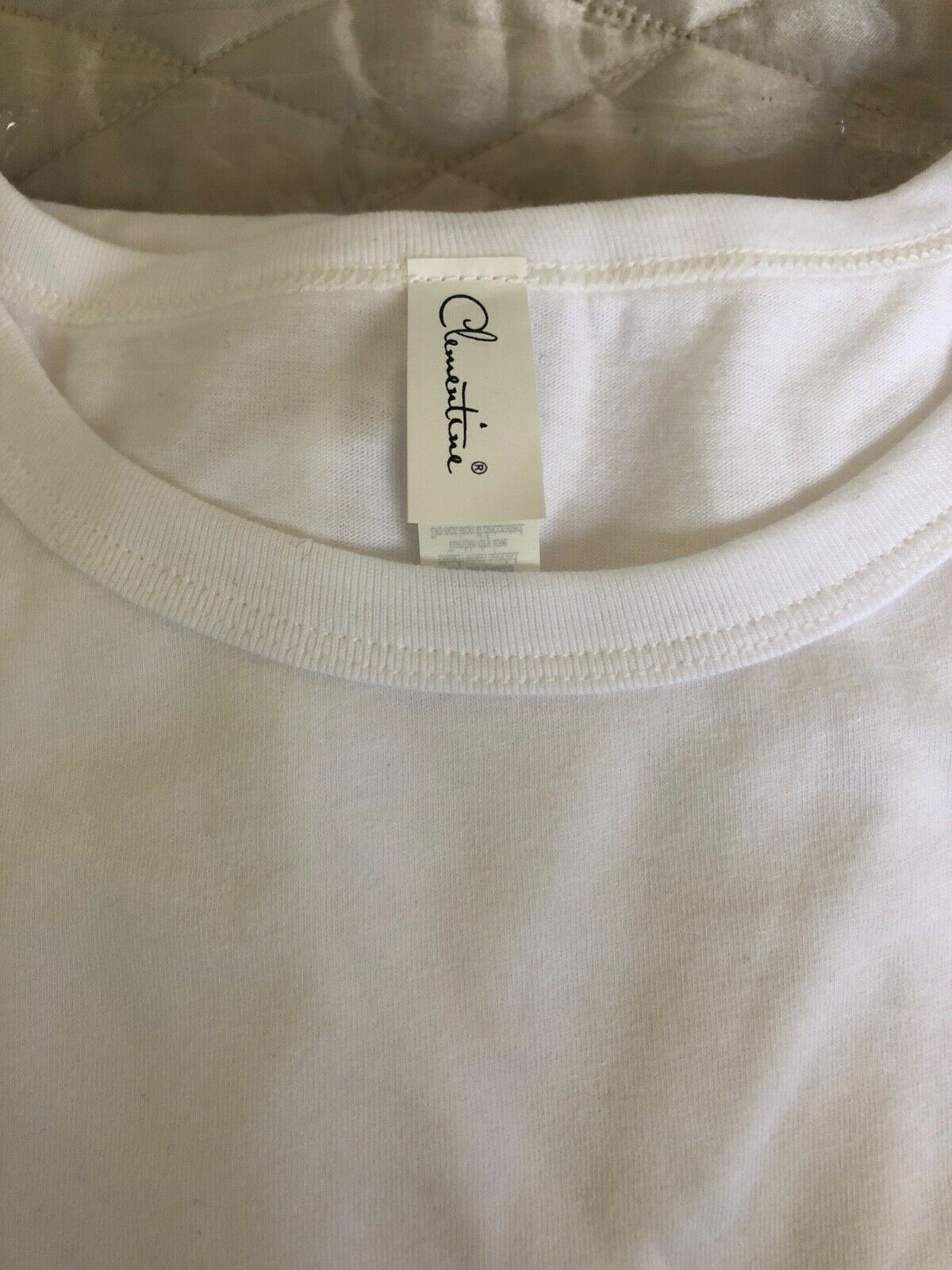 apparel women s tee shirt white xl