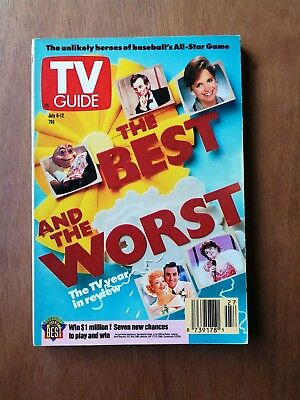 TV Guide July 6-12, 1991 Issue #1997 - The Best & Worst The TV Year in